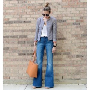 Brand New J Crew Flare Bell Bottoms Jeans Size 26